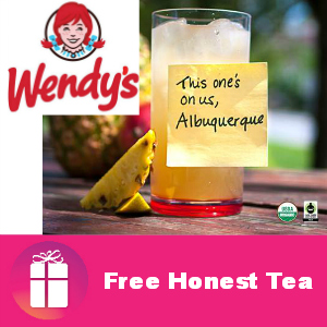 Free Honest Tea at Wendy's