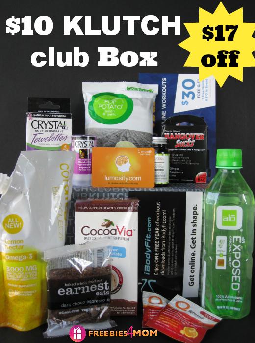 $10 KLUTCHclub Box ($17 off)