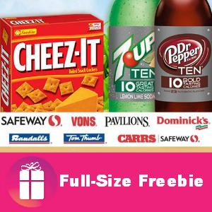 Freebie Cheez-It and 2 Liter