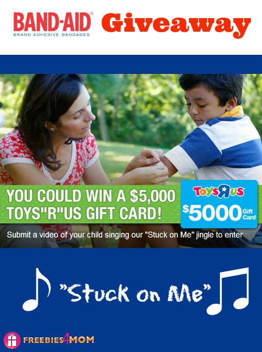 Band-Aid Sing Along Giveaway