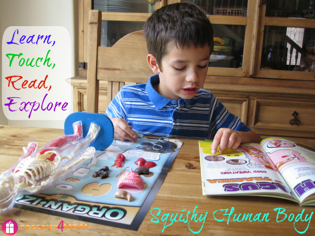 Squishy Human Body: Learn, Touch, Read, Explore