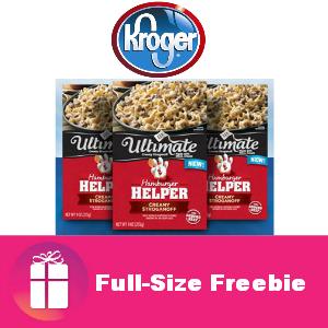 Free Ultimate Helper at Kroger