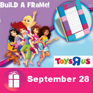 Free Lego Friends Build a Frame Event