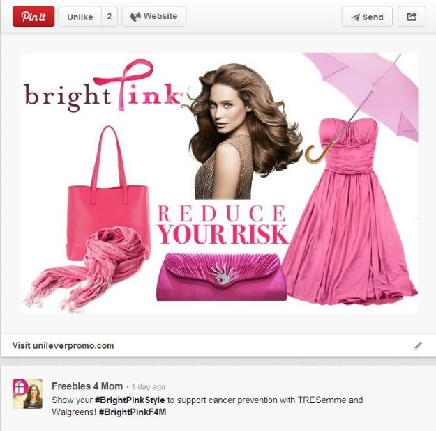 Bright Pink Style Fashion Board