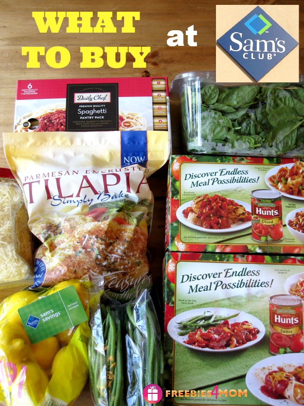 What to Buy at Sams Club to make Italian-Style Fish & Pasta Recipe on Spinach #SamsDemos #cbias #shop
