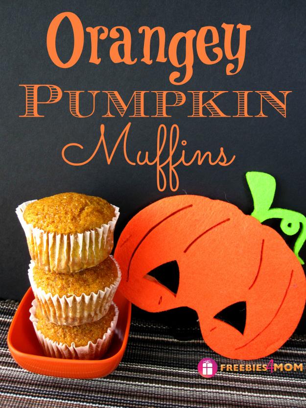 Orangey Pumpkin Muffins Recipe