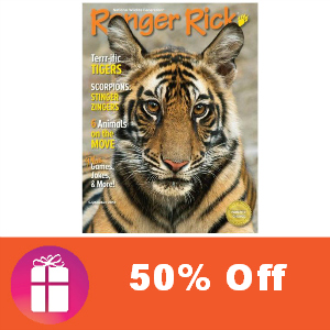 Deal Ranger Rick Magazine 50% Off