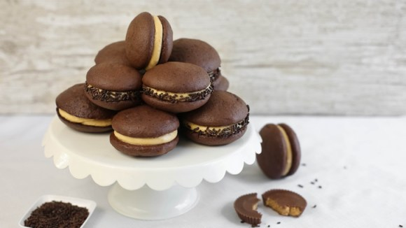 Reese's Peanut Butter Chocolate Whoopie Pies