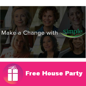 Free House Party: Make a Change with Simple