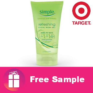 Free Sample Simple Skincare from Target