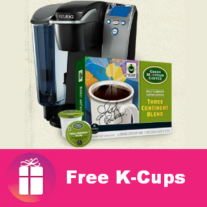 Freebie Green Mountain K-Cups