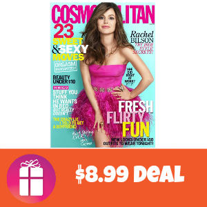 Deal $8.99 for 2 Years of Cosmopolitan