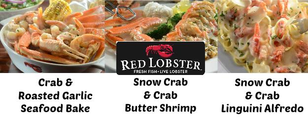 Crabfest Entrees