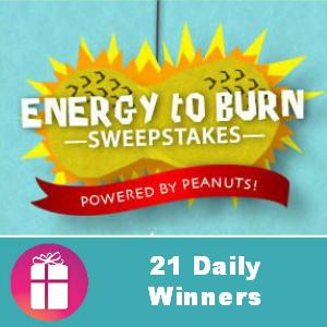 Sweeps National Peanut Board Energy to Burn
