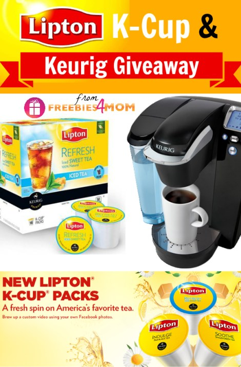 Lipton K-Cup and Keurig Platinum Giveaway