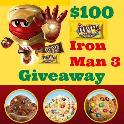 Iron man 3 sweepstakes and giveaways
