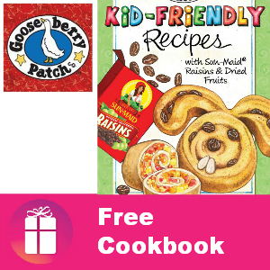 Free Kid Friendly Recipes Cookbook by Mail