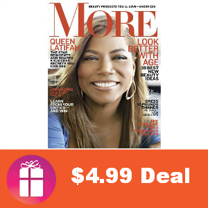 Deal $4.99 for More Magazine