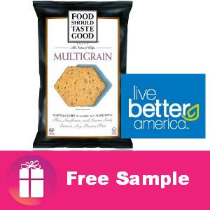 Free Food Should Taste Good Multigrain Chips