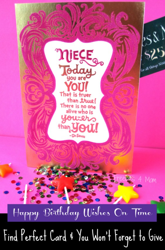 Send Happy Birthday Wishes On Time with Hallmark - Find the Perfect Card and you Won't Forget to Give It #BirthdaySmiles #cbias #shop