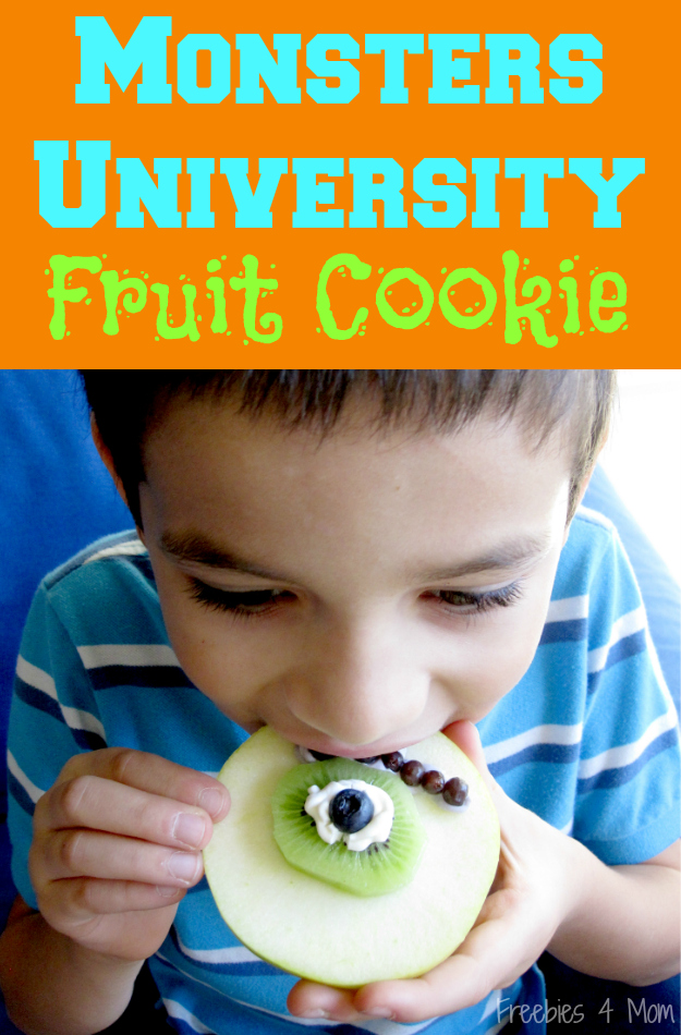Monsters University Fruit Cookie #ScareEdu #cbias #shop