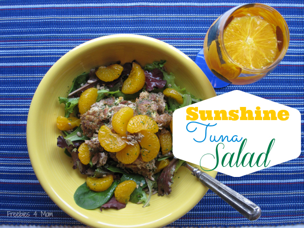 Sunshine Tuna Salad with #OceanNaturals #cbias #shop