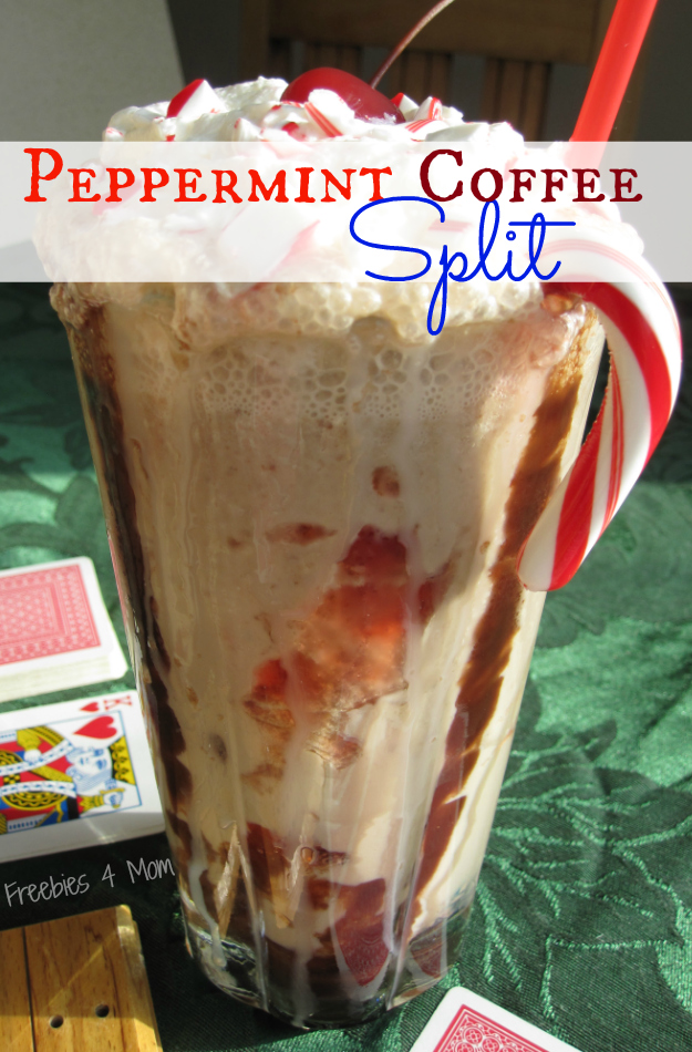 Peppermint Coffee Split Recipe #loveyourcup #shop