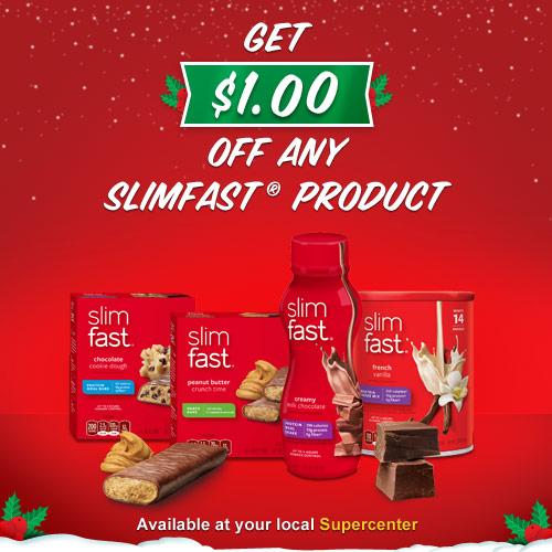 $1.00 off Slimfast