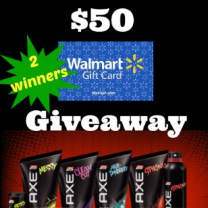 AXE Hair $50 Gift Card Giveaway