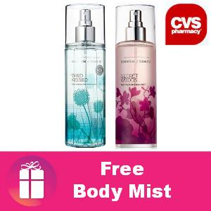 Free Body Mist at CVS