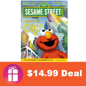 Deal $14.99 for Sesame Street Magazine