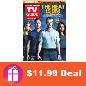 Deal $11.99 for TV Guide