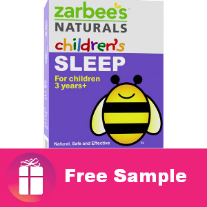 Free Sample Zarbee's