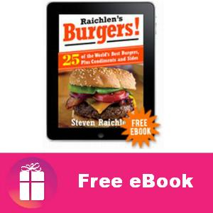 Free eBook: Raichlen's Burgers