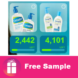 Free Sample Cetaphil