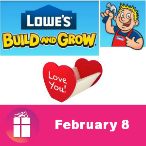 Free Love Note Holder Feb. 8 at Lowe's