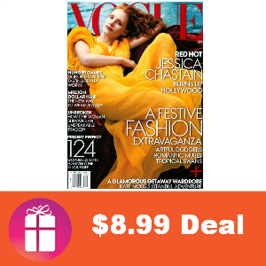 Deal $8.99 for Vogue