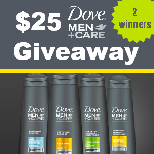 $25 Dove Men+Care Winners