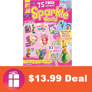 Deal $13.99 for Sparkle World Magazine