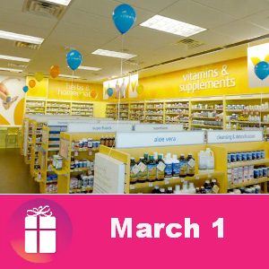 National Share the Health Day at Vitamin Shoppe