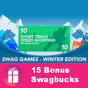 15 Winger Bonus at Swagbucks