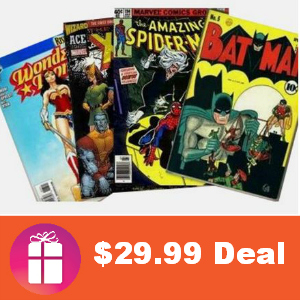 50 Classic Comic Books $29.99