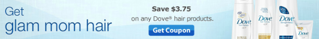 $3.75 Dove Hair Care Coupon