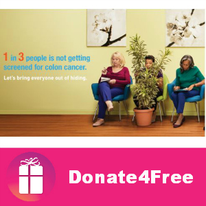 Donate4Free: Help Fight Colon Cancer