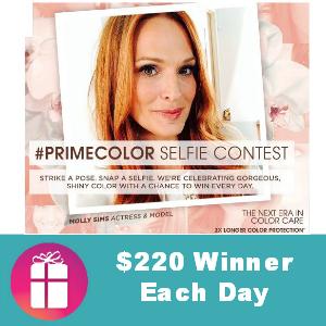Sweeps Nexxus Selfie ($220 winner/day)