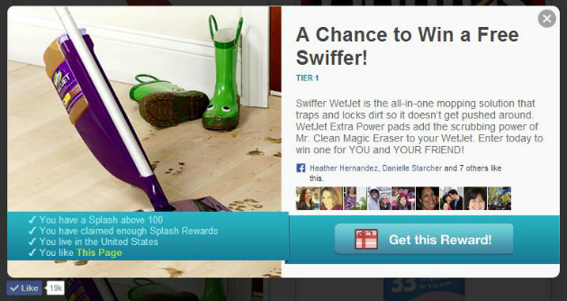 Swiffer WetJet Sweepstakes