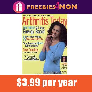Magazine Deal Arthritis Today $3.99/year