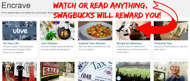 Earn Swag Bucks with Encrave