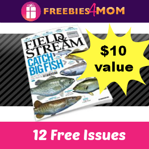 12 Free Issues of Field & Stream Magazine