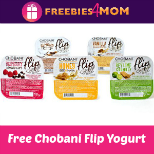 Free Chobani Flip Greek Yogurt at Kroger